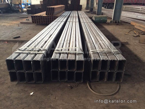 EN10219 S275NH,S275NLH rectangular hollow section, rectangular pipe, rectangular tube