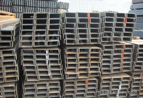 ASTM A572Gr.42,A572Gr.50,A572Gr.60,A572Gr.65 channel steel